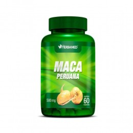 Maca peruana 500mg - c/ 60 caps - herbamed