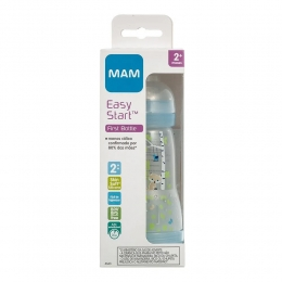 Mamadeira Mam Easy Start Azul - Anticólica 2+ Meses - 260ml