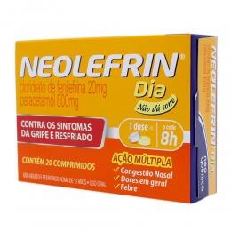 Neolefrin Dia - Gripes e Resfriados - com 20 Cápsulas