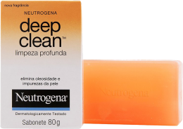 NEUTROGENA DEEP CLEAN SABONETE 80G