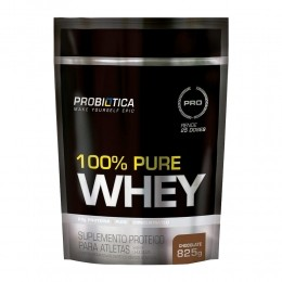 Probiótica 100% pure whey chocolate 825g - refil