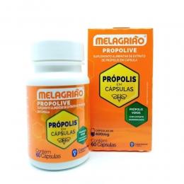 Propolive - Suplemento Alimentar de Extrato de Própolis - c/ 60 cápsulas - Melagrião