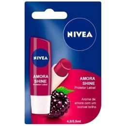 Hidratante / Protetor Labial Nivea Fruity Shine Amora 4,8g
