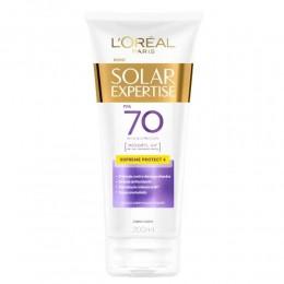 Protetor solar corporal - solar expertise - antienvelhecimento fps70 - 200ml - l'oréal paris