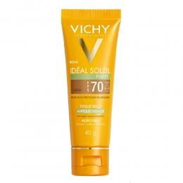 Protetor Solar Vichy Idéal Soleil Purify fps70 - Cor Média - 40g