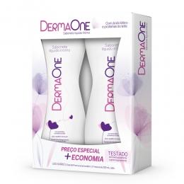 Sabonete Íntimo com 2 unidades de 200ml cada - Tradicional - DermaOne