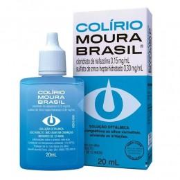 Solução Oftalmológica - Colírio Moura Brasil 20ml