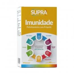 Supra Imunidade Polivitamínico - com 60 Cápsulas - Herbamed