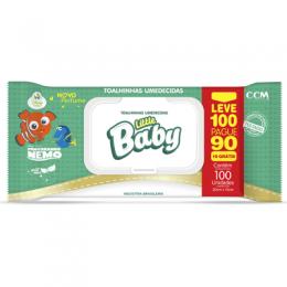 LENÇOS UMEDECIDOS LITTLE BABY NEMO LEVE 100 PAGUE 90 UNIDADES
