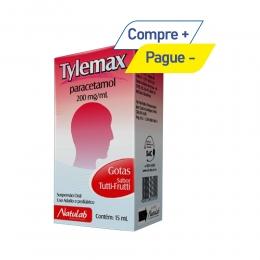 Tylemax - Paracetamol 200mg/ml - Sabor Tutti-Frutti - com 15ml