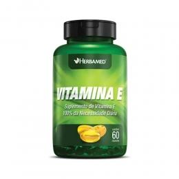 Vitamina E - com 60 Cápsulas - Herbamed