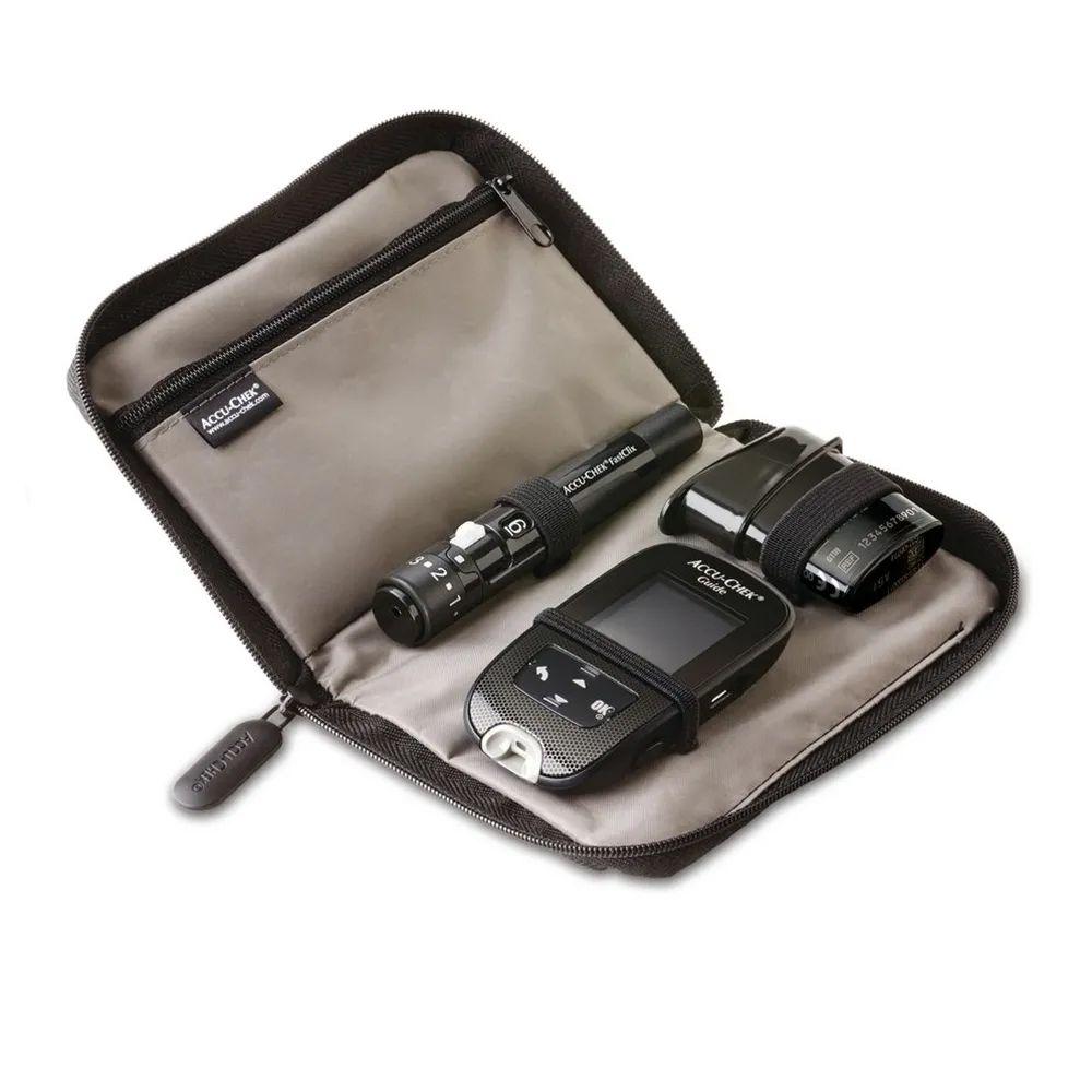 Accu-chek guide e kit monitor de glicemia - roche