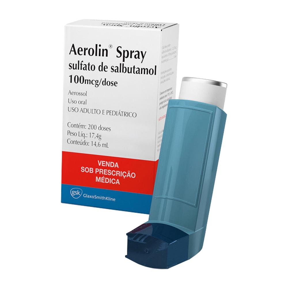 Aerolin 100mcg Spray - GSK