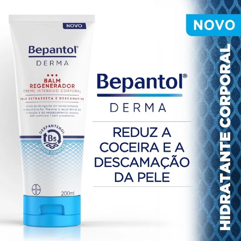 Bepantol Derma Balm Regenerador Creme Intensivo Corporal 200ml - Bayer