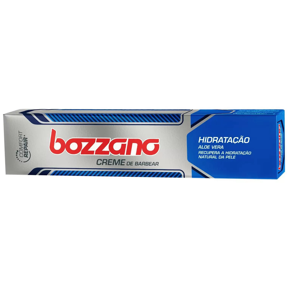 Creme de Barbear Bozzano com Aloe Vera 65g