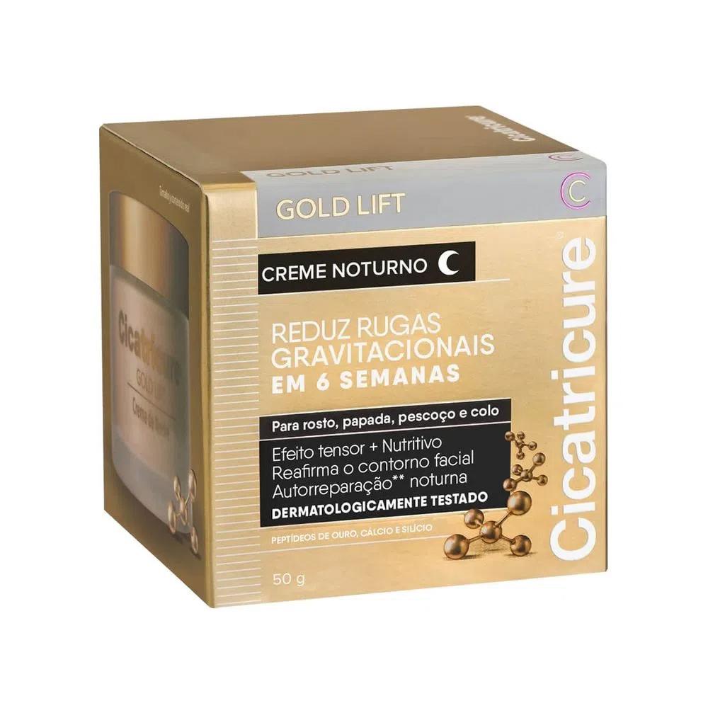 Cicatricure - Creme Facial Gold Lift Noturno 50g