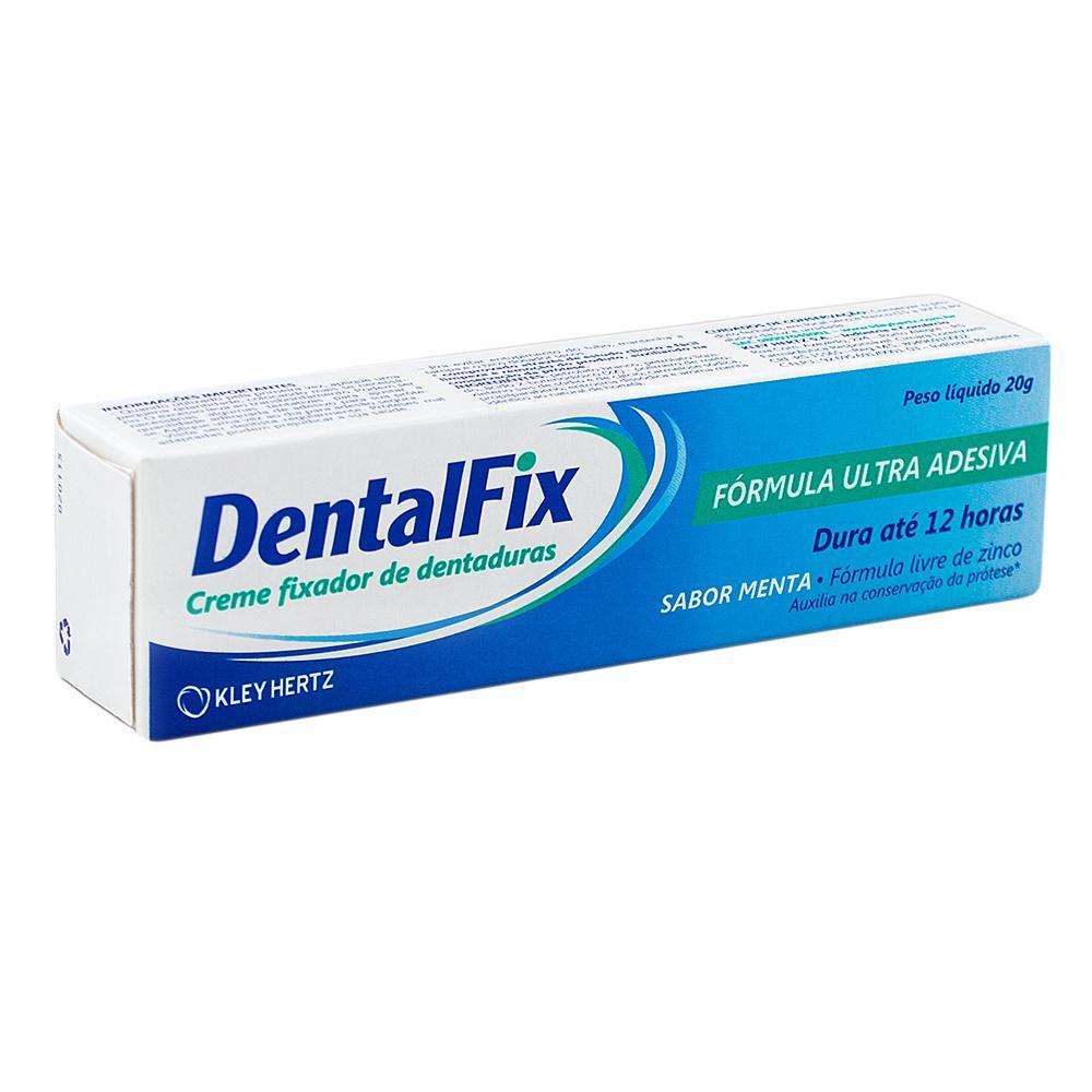 Dentalfix Creme Fixador para Dentaduras - Sabor Menta - 20g