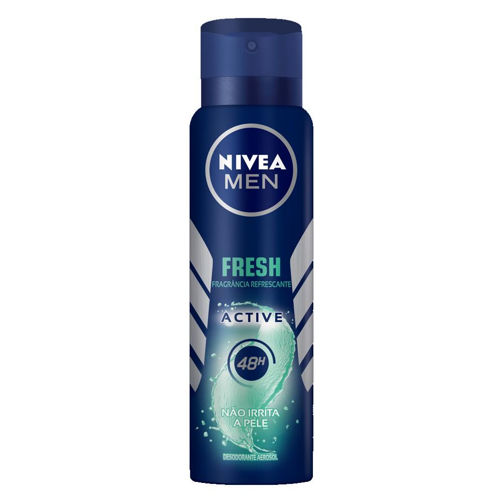 Desodorante Aerosol Antitranspirante Nivea Men Fresh Active - 150ml