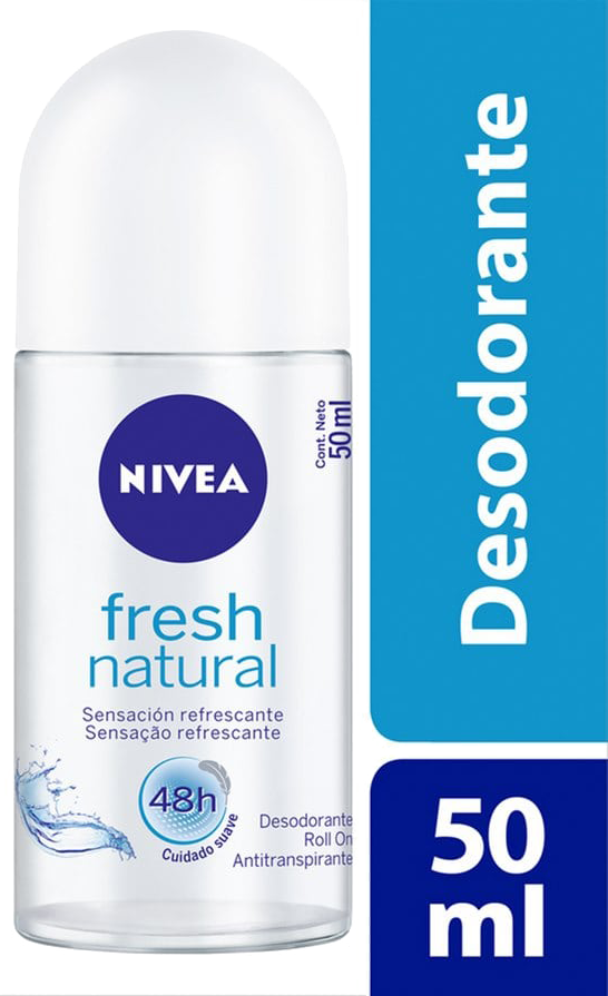 DESODORANTE ROLL ON NIVEA FEMININO FRESH FEMININO 50ML