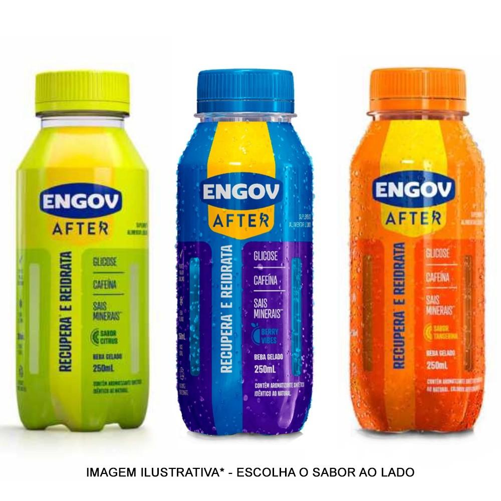 Engov After Sabores 250ml - Para Ressaca