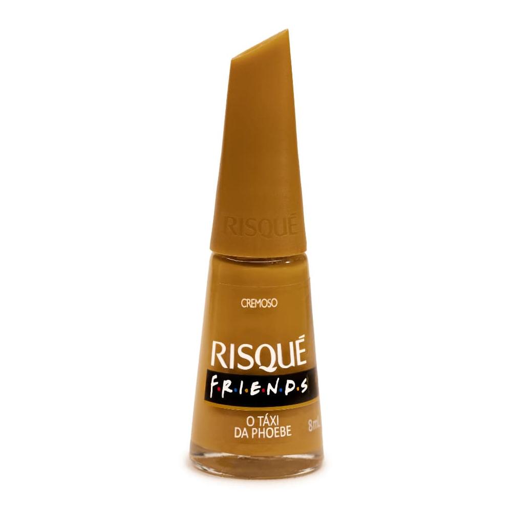 """Esmalte Coleção Friends - """"No Táxi Da Phoebe"""" Cremoso 8ml - Risqué"""