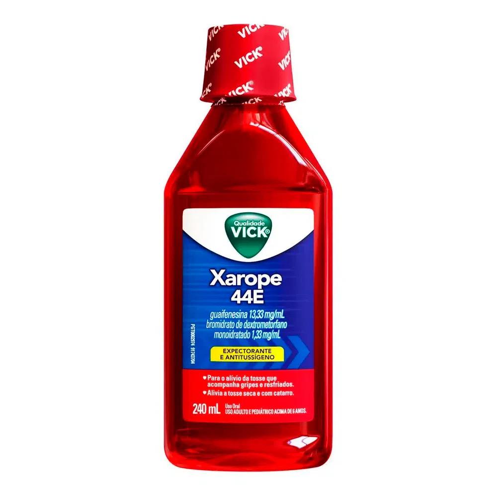 Expectorante Xarope Vick 44E com 240ml