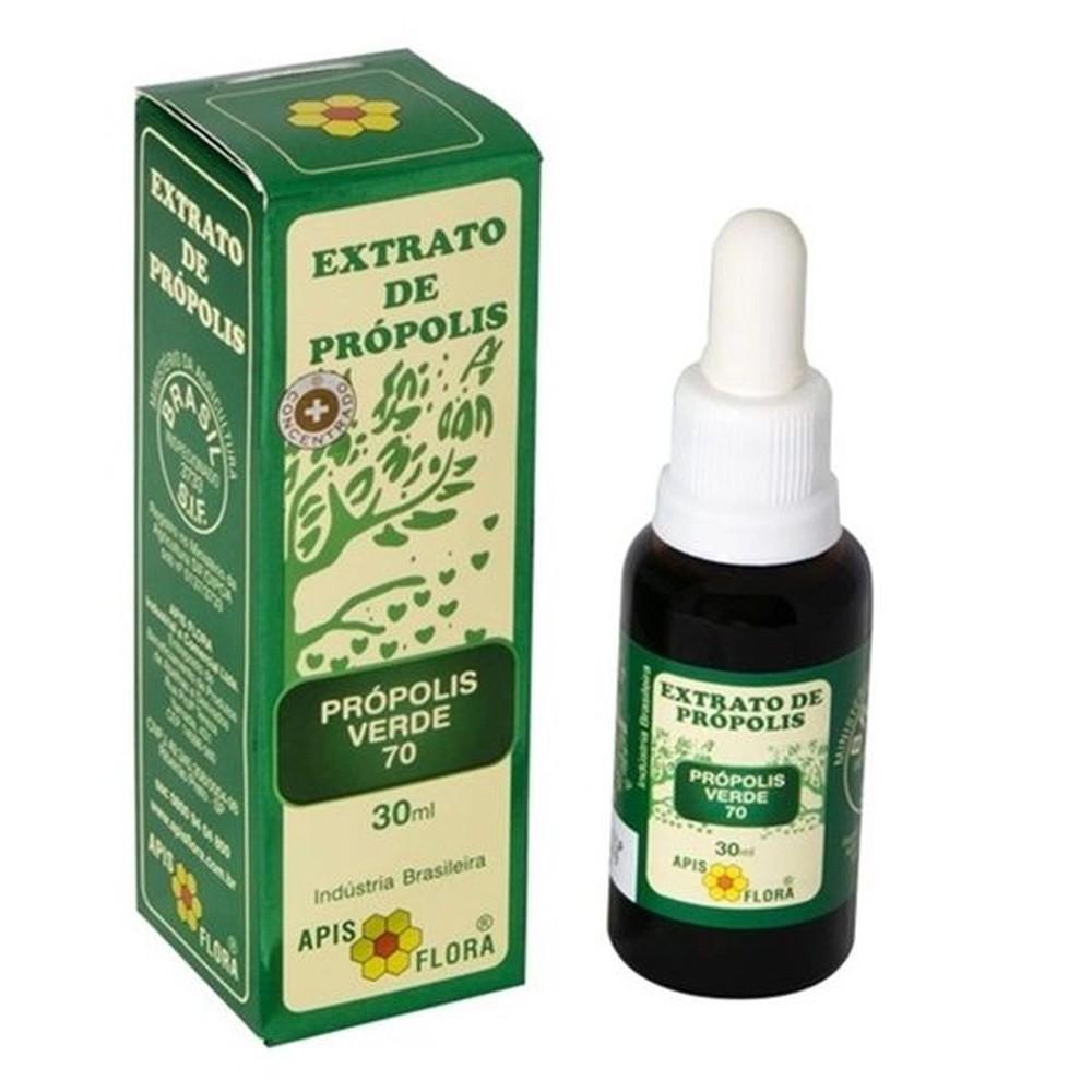 Extrato de própolis verde 70% - 30ml - apis flora