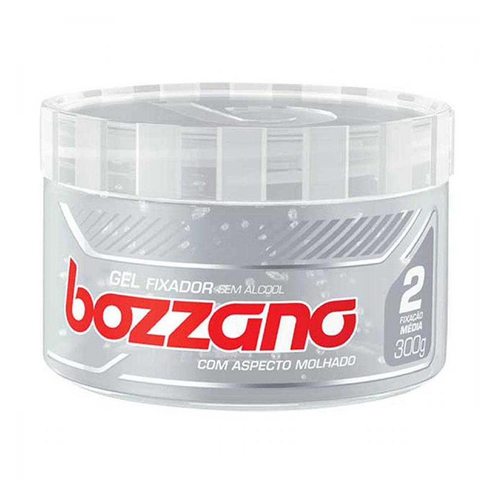 Gel Fixador Bozzano Incolor - Fixação 2 Média - Sem Álcool com 300g