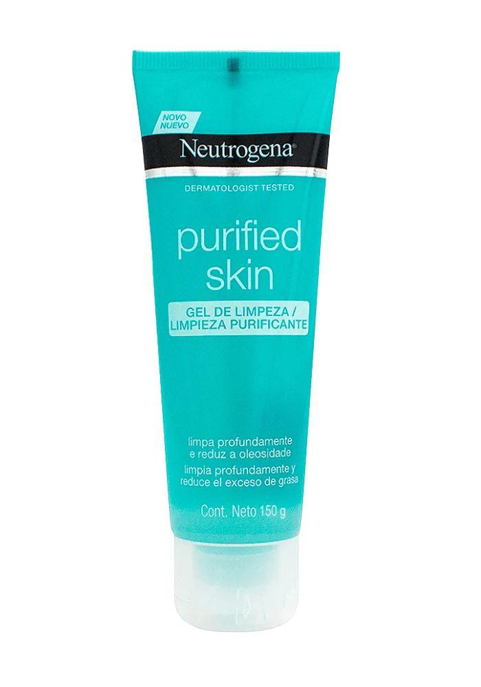 Gel limpeza neutrogena purified skin 150g