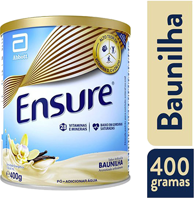 ENSURE PÓ SABOR BAUNILHA 400G