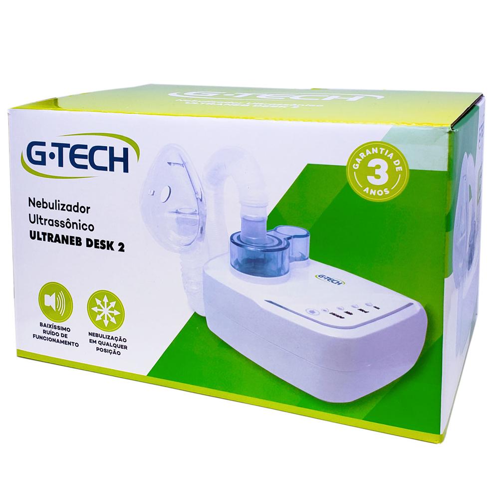 Inalador Nebulizador Ultrassônico Ultraneb Desk-2 - G-Tech