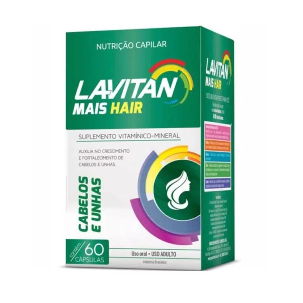 Lavitan Hair Mais c/ 60 cápsulas