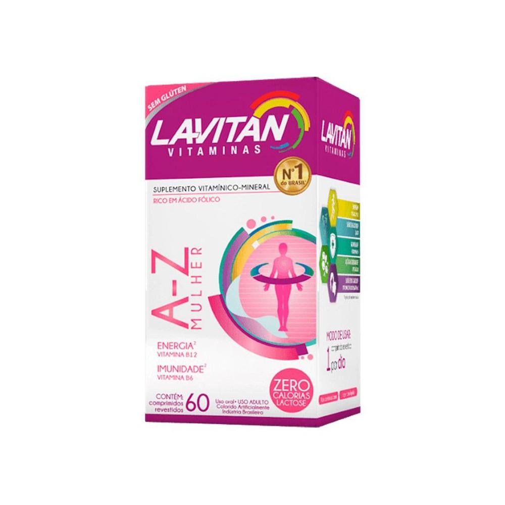 Lavitan mulher - vitaminas de a-z com 60 comprimidos