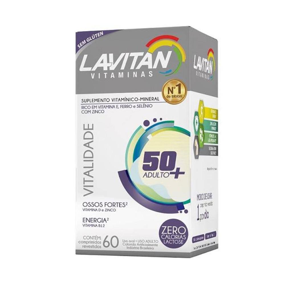 Lavitan Vitalidade - Suplemento Vitamínico - com 60 comprimidos