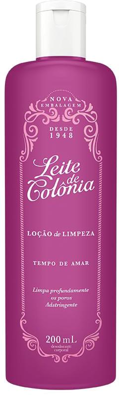LEITE DE COLÔNIA TEMPO DE AMAR 200ML