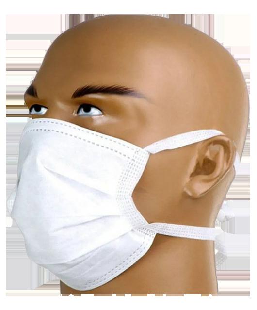 Máscara Descartável 100% polipropileno c/100