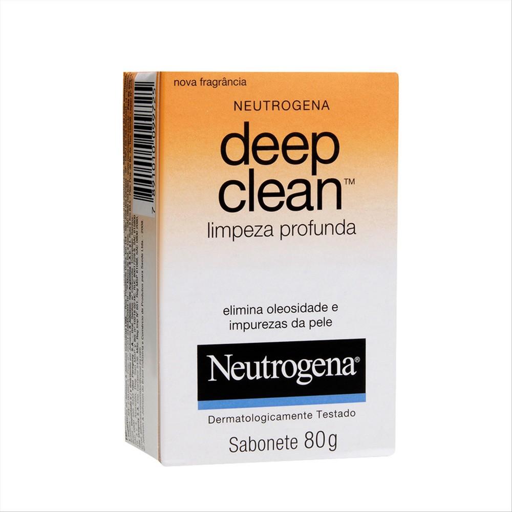 Neutrogena deep clean sabonete 80g