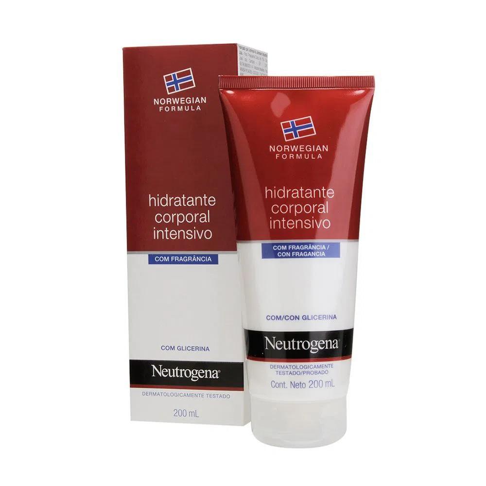 Neutrogena Norwegian Hidratante Corporal Intensivo com Perfume 200ml