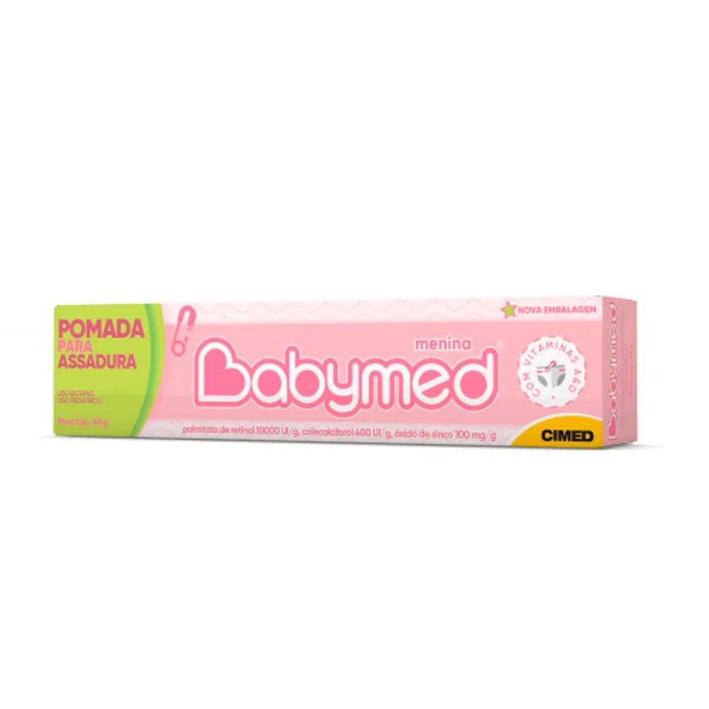 Pomada para Prevenção de Assaduras Babymed Rosa 45g