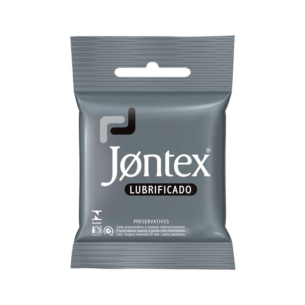 PRESERVATIVO JONTEX LUBRIFICADO TRADICIONAL - C/ 3UN