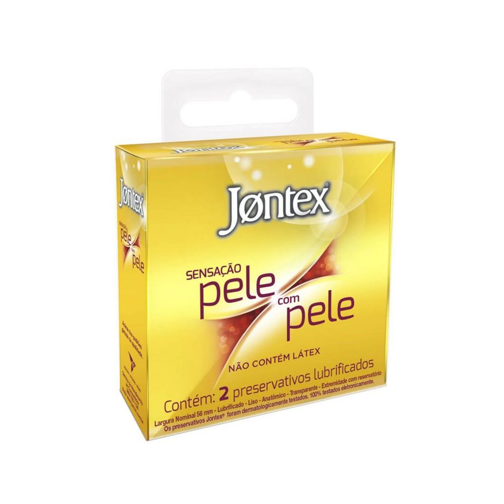 PRESERVATIVO JONTEX SENSAÇÃO PELE COM PELE - C/ 2UN