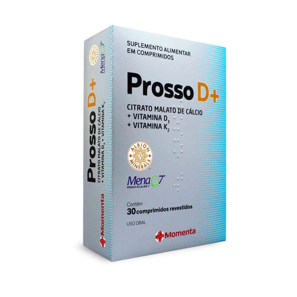 Prosso D+ - Calcio (citrato malato)+ vitamina d3 + vitamina k - 30cps