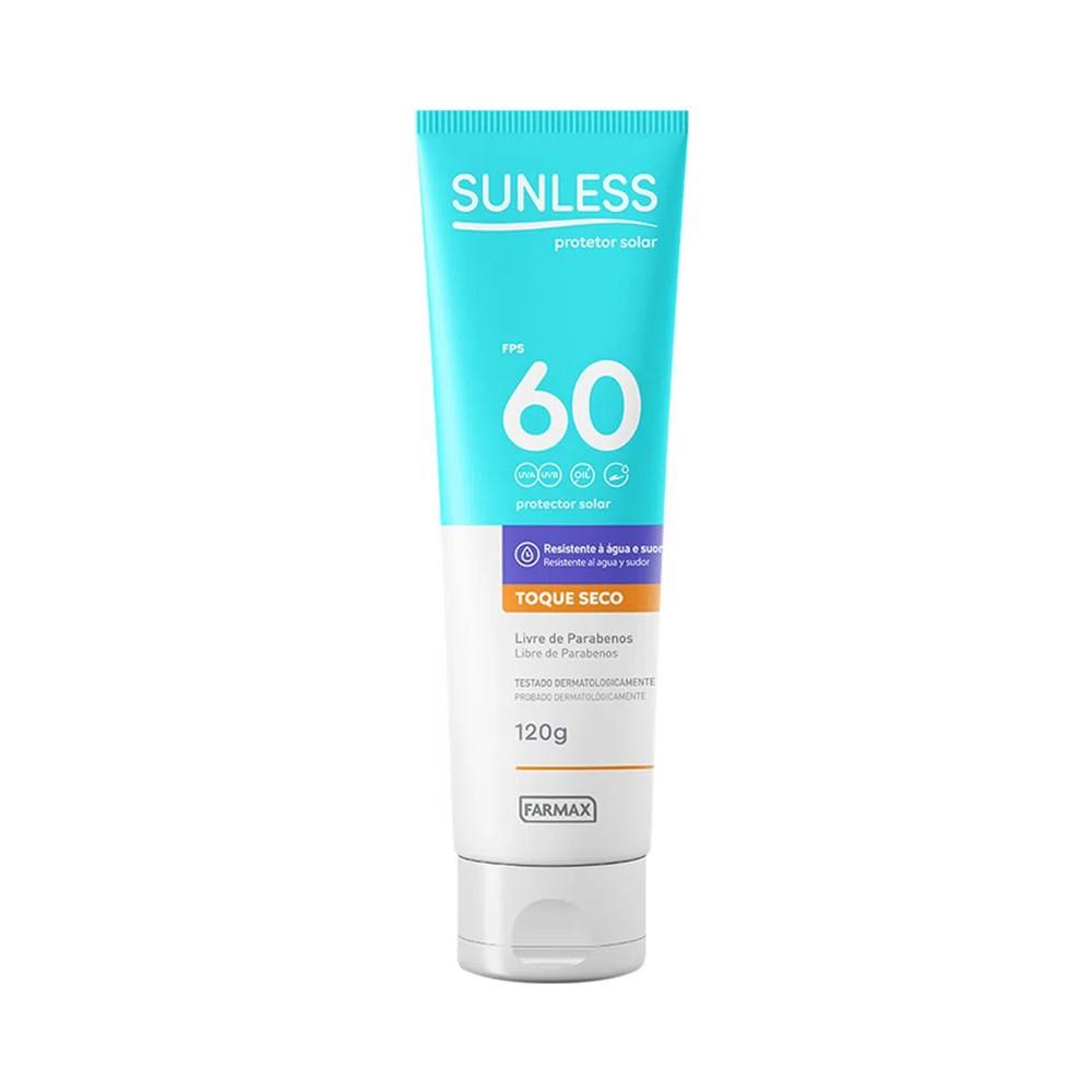 Protetor solar sunless fps60 120g