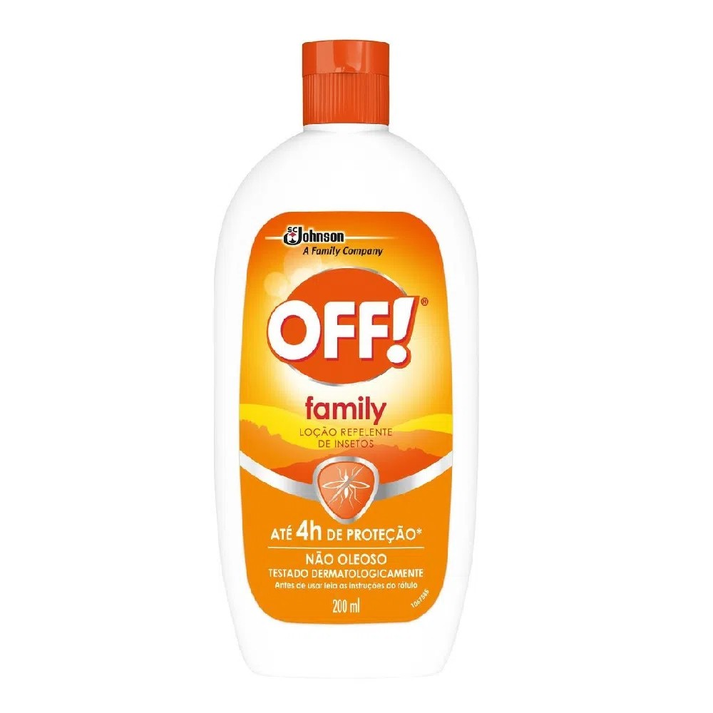 Repelente loção off! Family 200ml