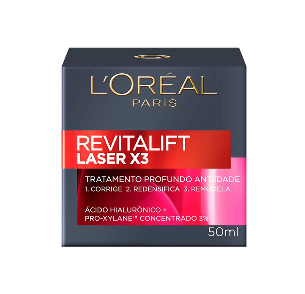 Revitalift laser x3 tratamento profundo anti-idade 50ml - l`oréal