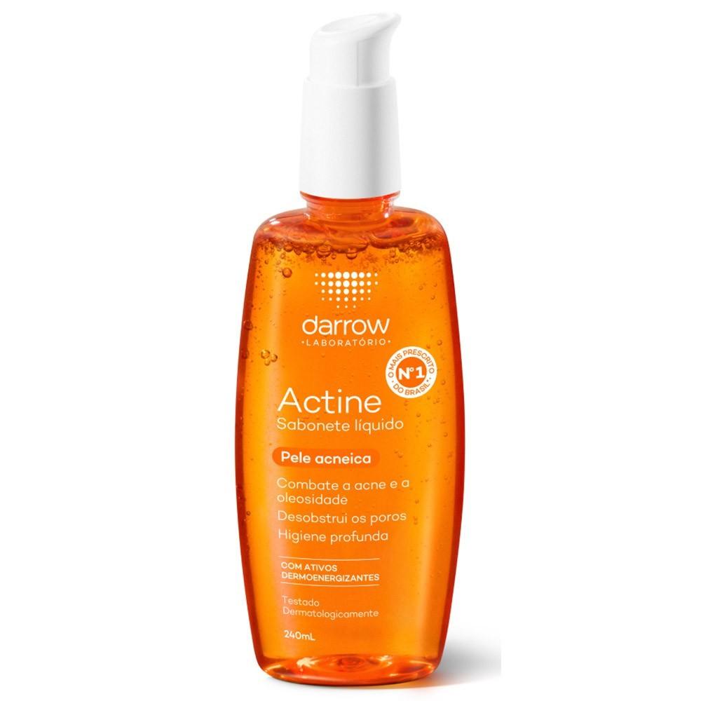 Sabonete líquido - pele acneica - actine darrow 140ml