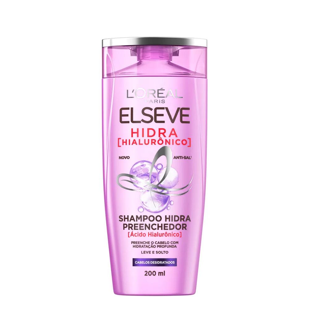 Shampoo Elseve Hidra Hialurônico 200ml - L'óreal Paris