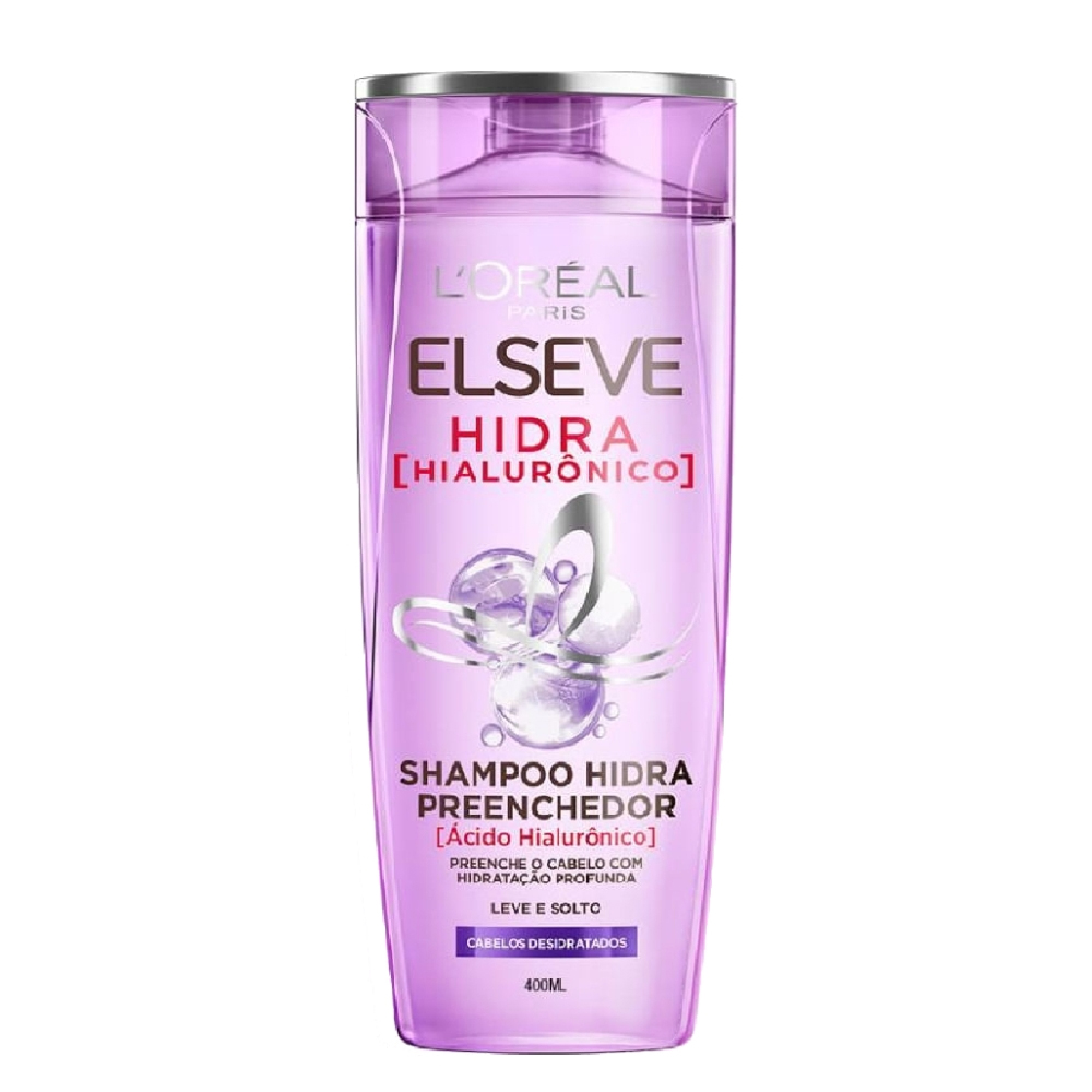 Shampoo Elseve Hidra Hialurônico 400ml - L'óreal Paris