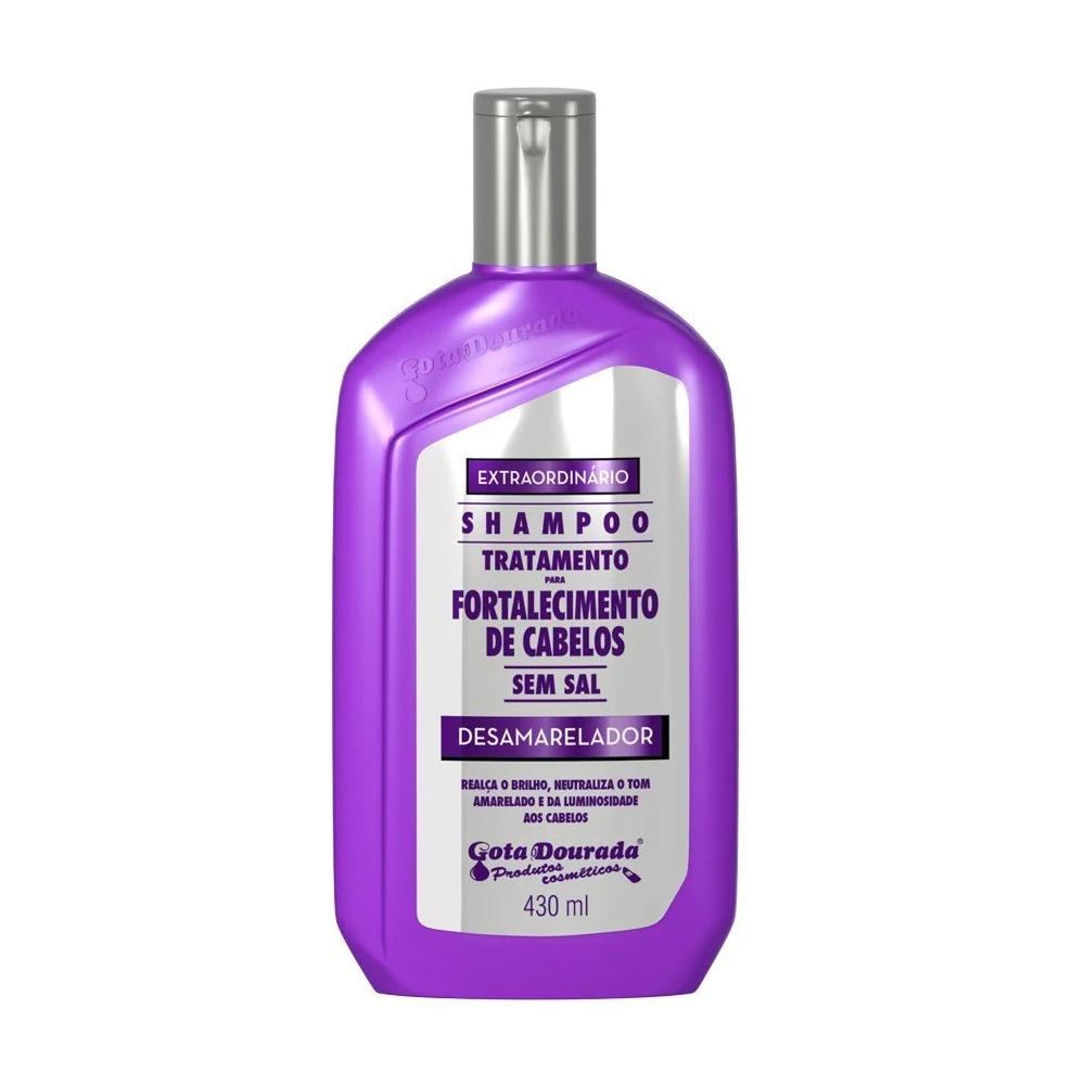 Shampoo Gota Dourada Desamarelador - 430ml