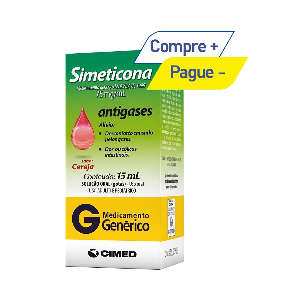 Simeticona 75mg/ml - Antigases - com 15ml - Cimed